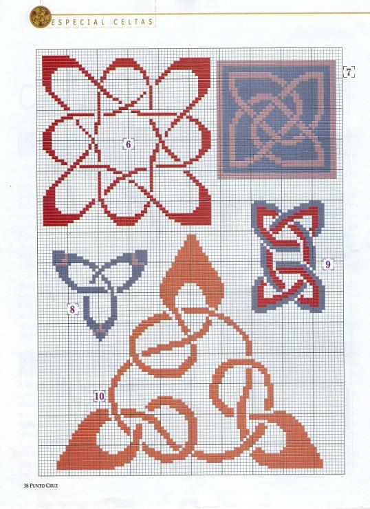 Схема для вышивки кельтский