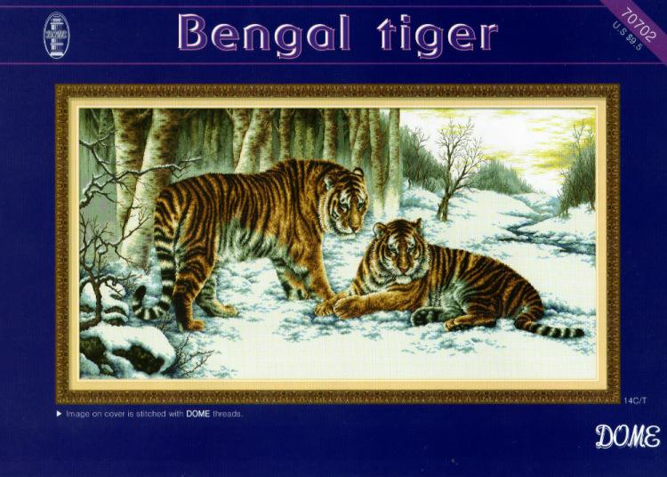 Схема бенгальский тигр dome