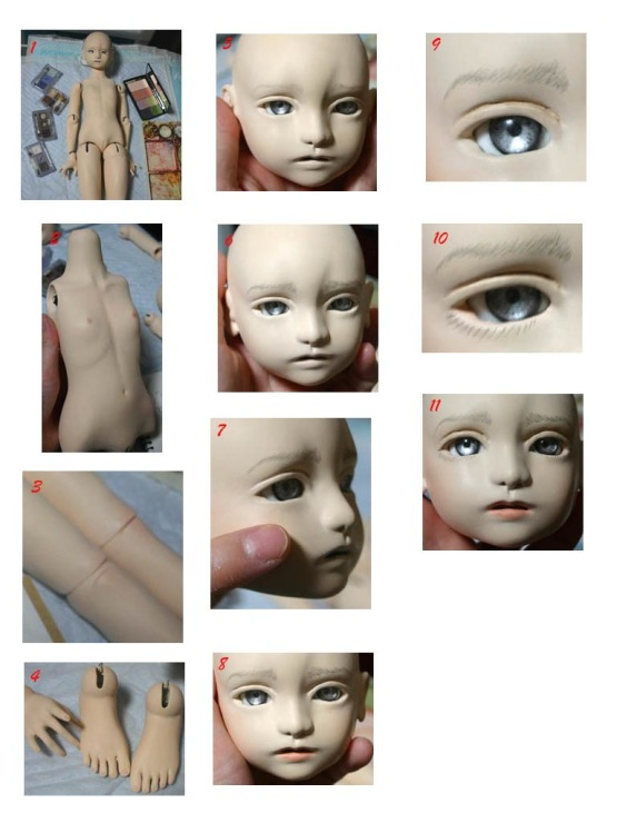 Простые куклы из пластика