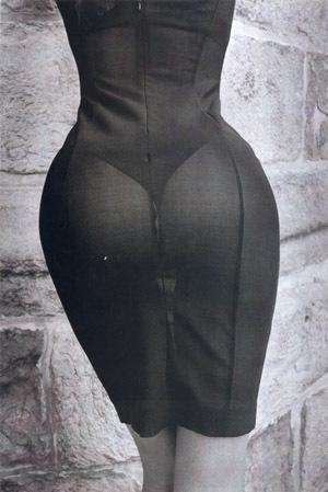 фотография тела сзади