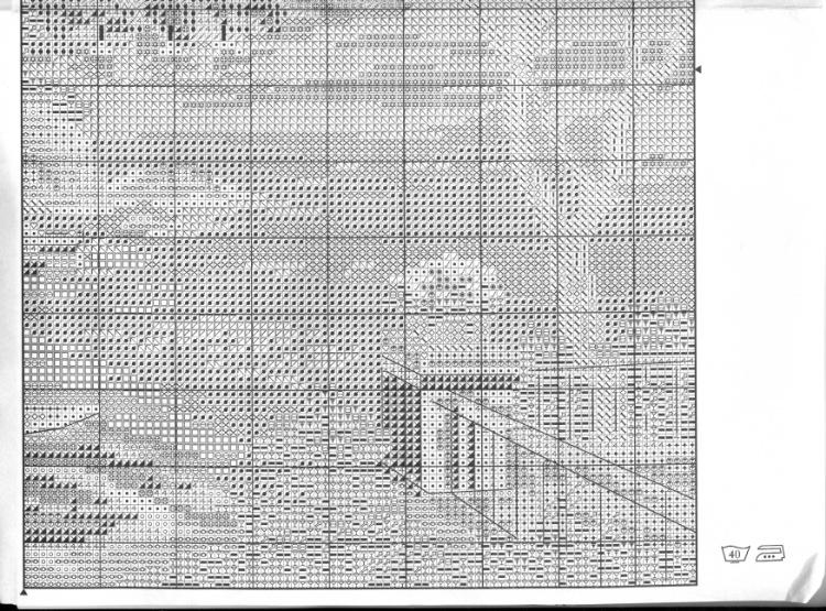 Вышивка схемы южный берег
